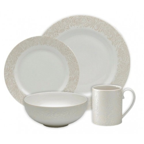 Monsoon Lucille Gold 4 Piece Tableware Set